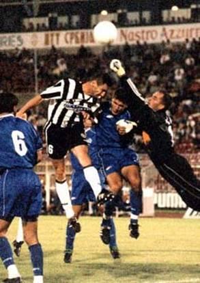 Gerasimovski during his playing days at Partizan; photo: ozwhitelufc.net.au